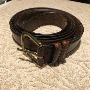 Mans Cow hide belt